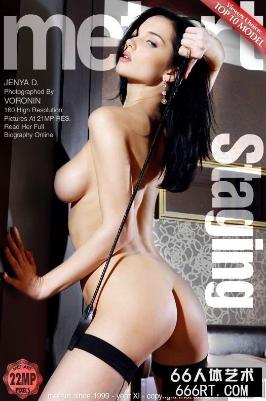 美得让人心颤的超模Jenya薄丝人体-1