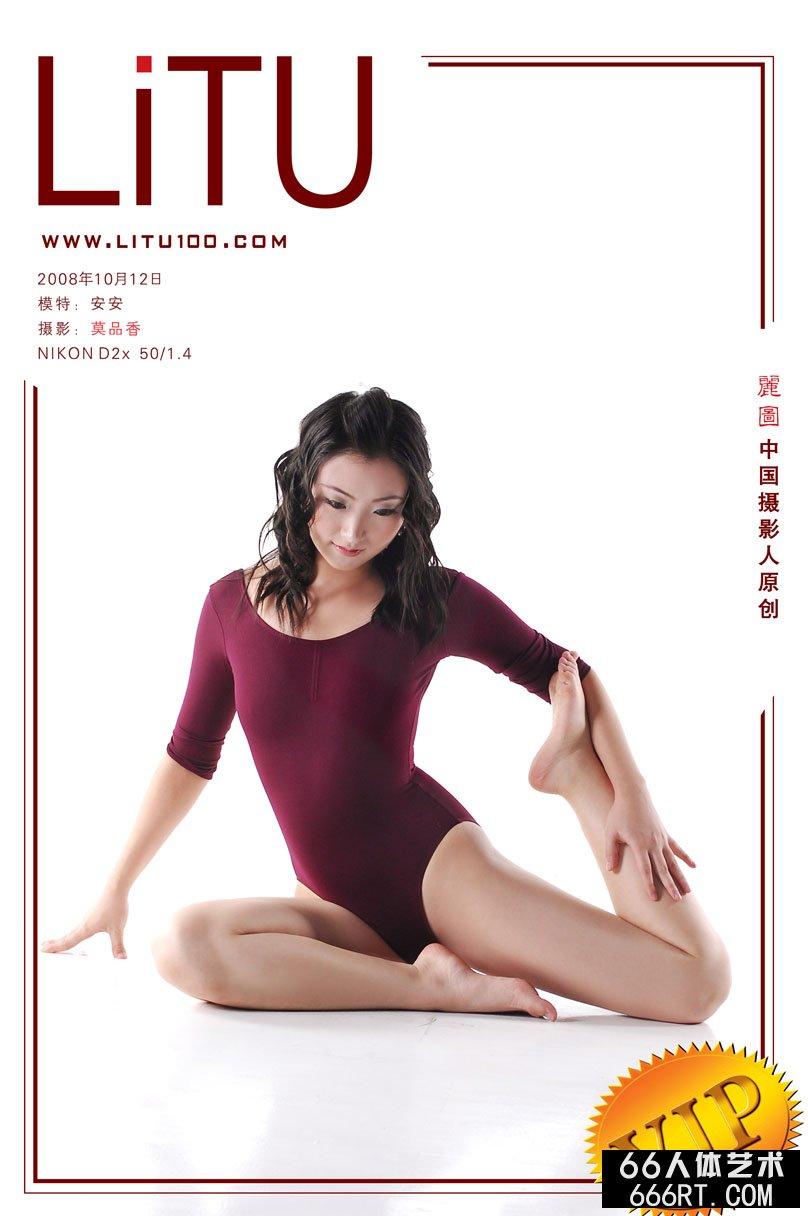 舞蹈美模安安08年10月12日棚拍人体