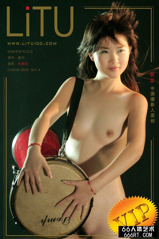 音乐系靓女嘉怡05年7月22日室拍_西西大陆人体艺术